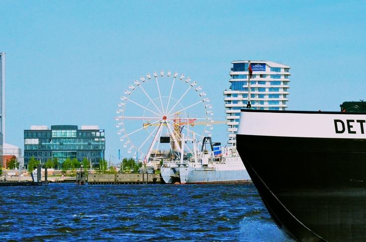 Steiger Riesenrad in der Hamburger HafenCity (Foto:team-M.de)