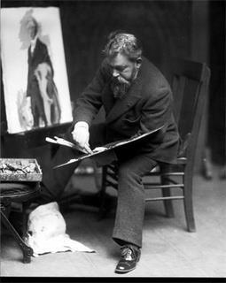 Joaquin Sorolla y Bastida (February 27, 1863 - August 10, 1923), Spanish painter, born in Valencia.