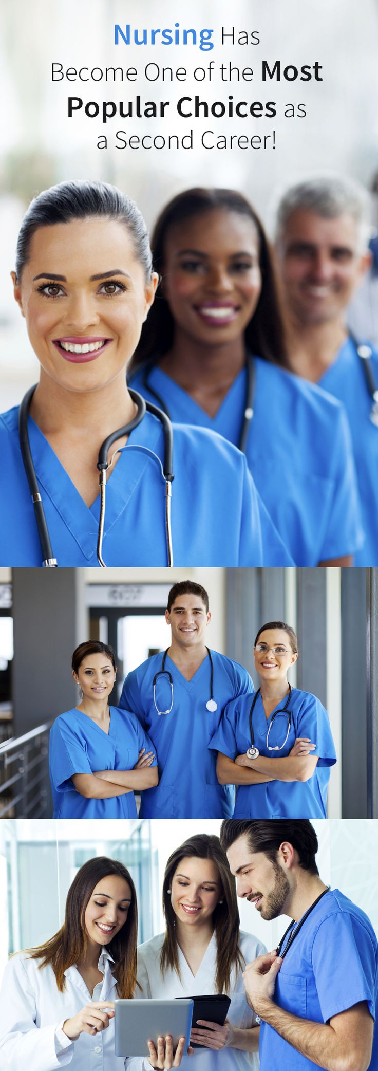 Why become a nurse? Because #nursing is one of the fastest growing occupation in the United States. Find campus/online nursing programs near you and get started!