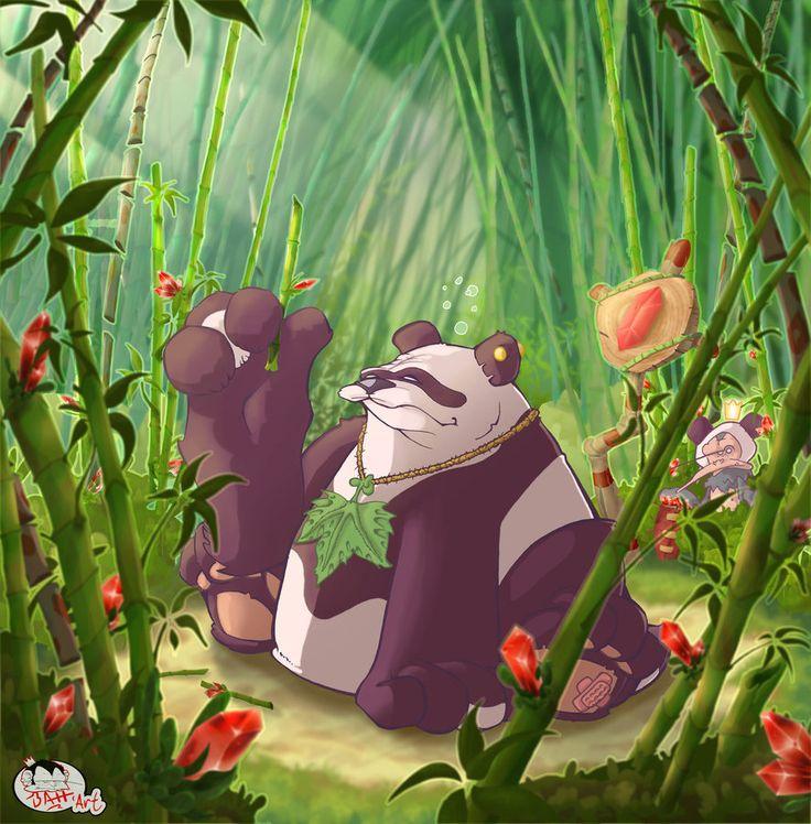 Panda Boss by the-BATT-ART