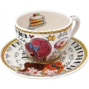 Kop en Schotel Time for Tea Even Bijkletsen Blond Amsterdam