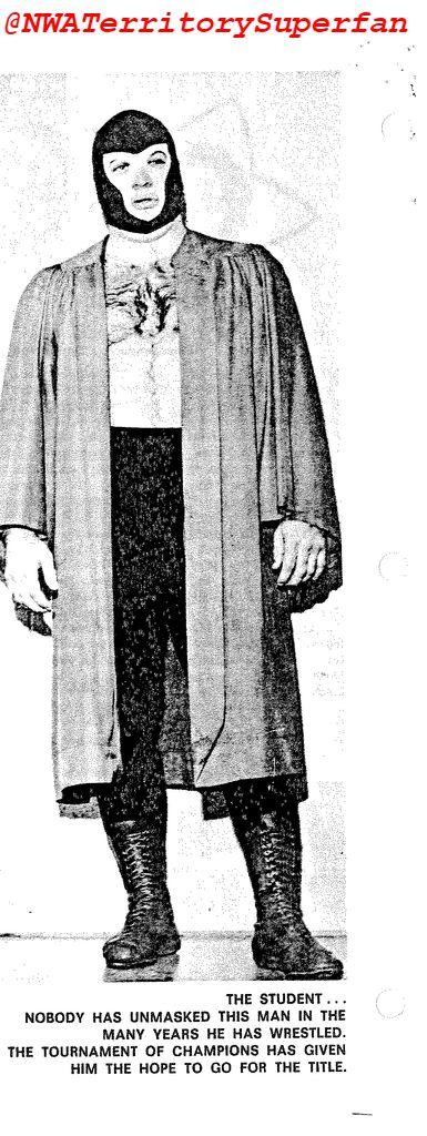 The Student (masked George Steele)