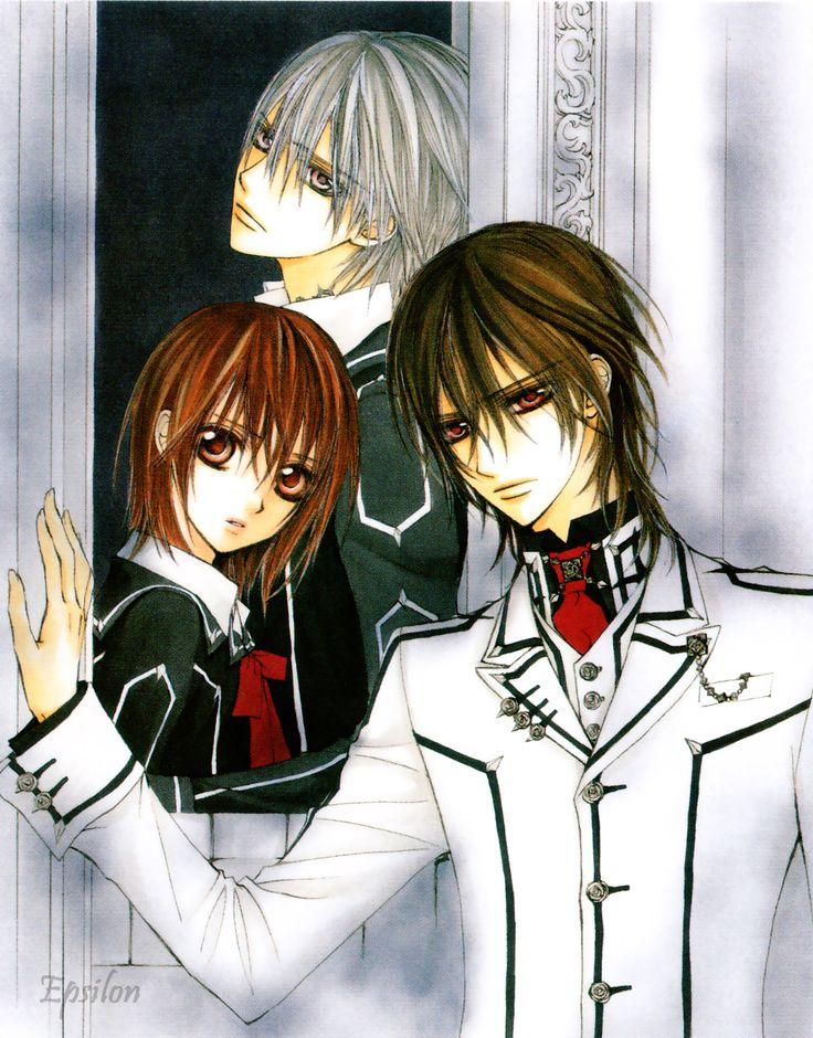 Zero Kiryu,Kaname Kuran,Yuki Kuran(Yuki Cross) Vampire