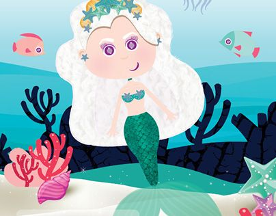 "Check out new work on my @Behance portfolio: ""mermaid pipok""…"