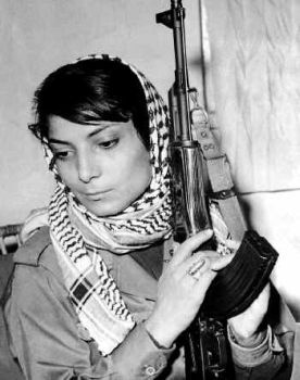 Leila Khaled - Palestine. 'nuff said.