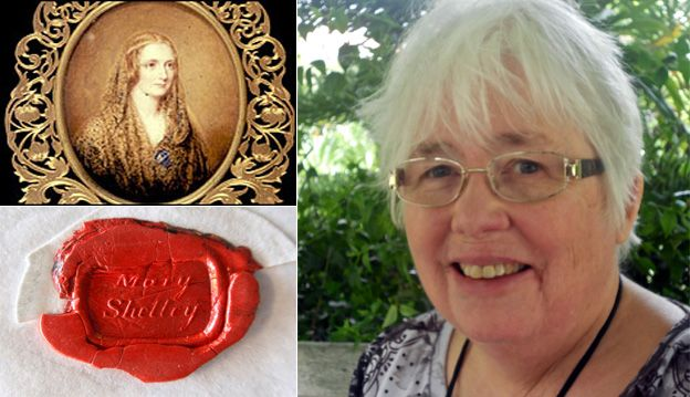 Thirteen letters written by Mary Wollstonecraft Shelly were found by Professor Anglia Ruskin in Chelmsford, Essex. Shelly's letter's were addressed to Howard Smith and his daughter Eliza. The Smith family befriended Mary Shelly after the drowning death of her husband, Percy Bysshe Shelley, in 1822.