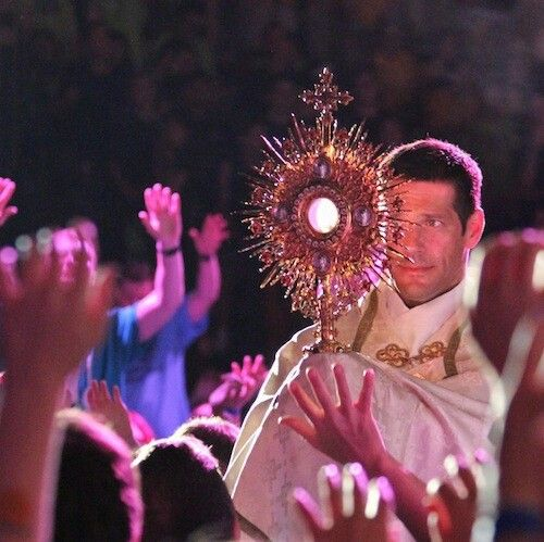 Go to Steubenville Conference. Look at Fr. Mike's face :)