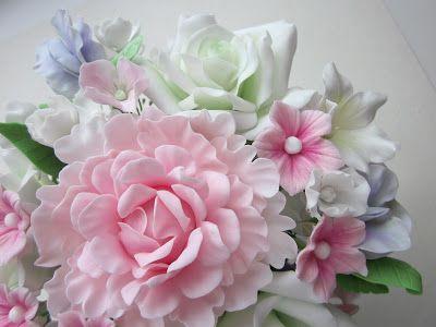 Sugar flowers.