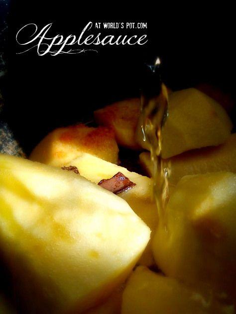 Compot de mere cu arome bahice | Oala lumii