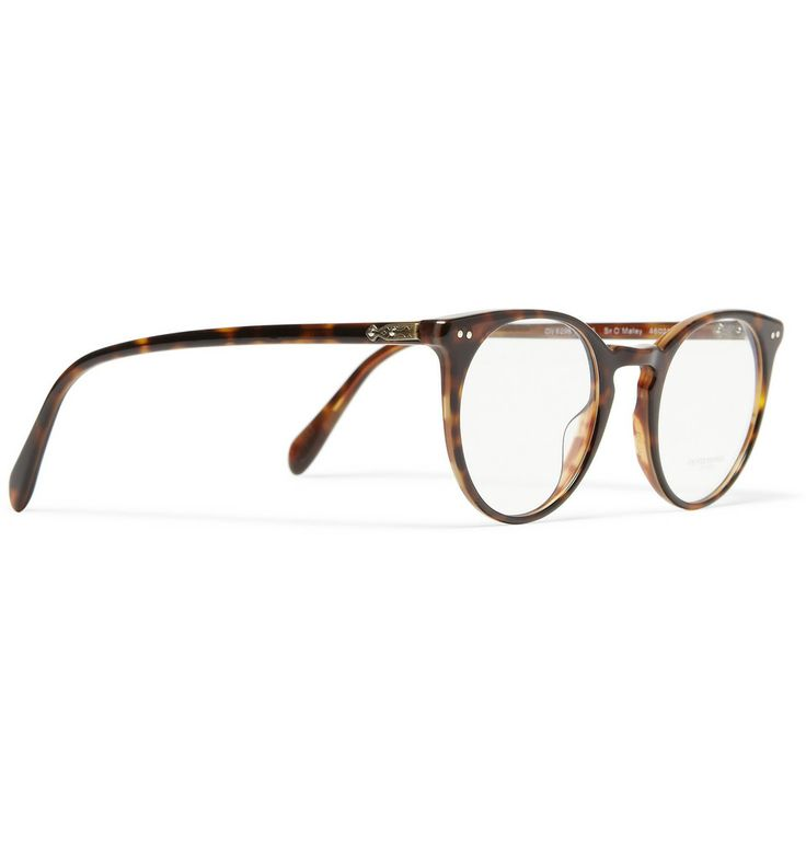 Oliver Peoples - Sir O'Malley Round-Framed Acetate Glasses $410