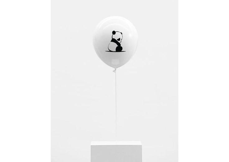 balloons baby panda/ 6 pieces  www.fabsworld.nl SHOP: www.fabsstore.nl