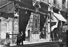 "TEATRO ""ROMEA"" EN LA CALLE CARRETAS - 1930"