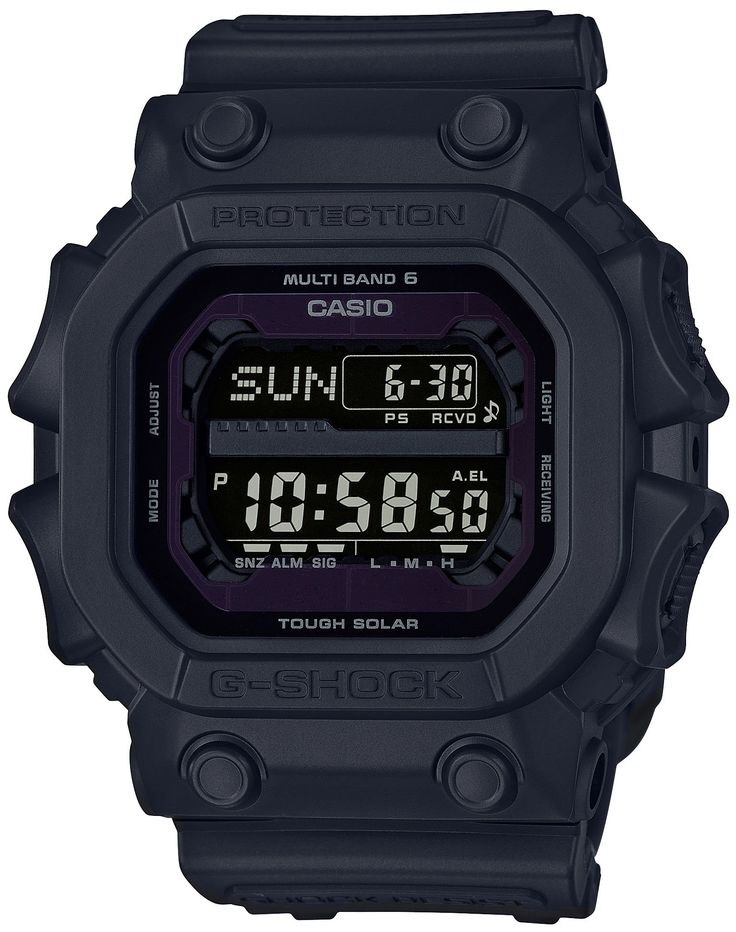 CASIO G-SHOCK GXW-56BB-1JF MENS JAPAN IMPORT. Resin band. World time 31 time zones (48 cities + coordinated universal time), daylight saving on/off. Countdown timer Measuring unit: 1 second Countdown range: 24 hours Countdown start time setting range: 1 minute to 24 hours (1-minute increments and 1-hour increments).