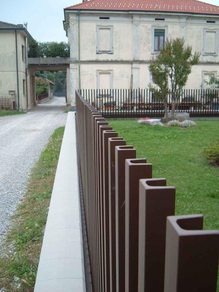 25 Best Ideas About Steel Fence On Pinterest Metal