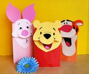 paper bag winnie the pooh characters