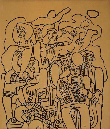 Fernand Léger. Circus Family. 1941
