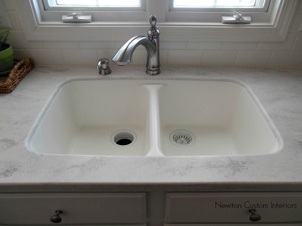 116 best images about my dream kitchen sink on pinterest for Corian farm sink price