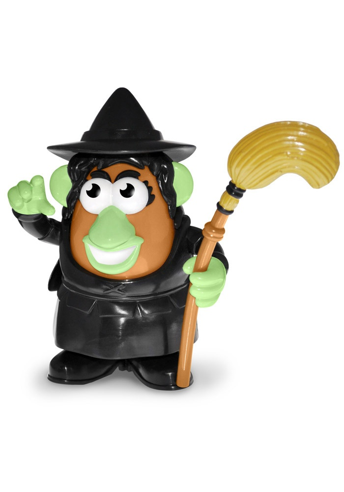 Wizard of Oz Wicked Witch of the West Mrs Potato Head  http://www.rallyhouse.com/shop/wizard-of-oz-wizard-of-oz-wicked-witch-of-the-west-mrs-potato-head-1263008  $19.99