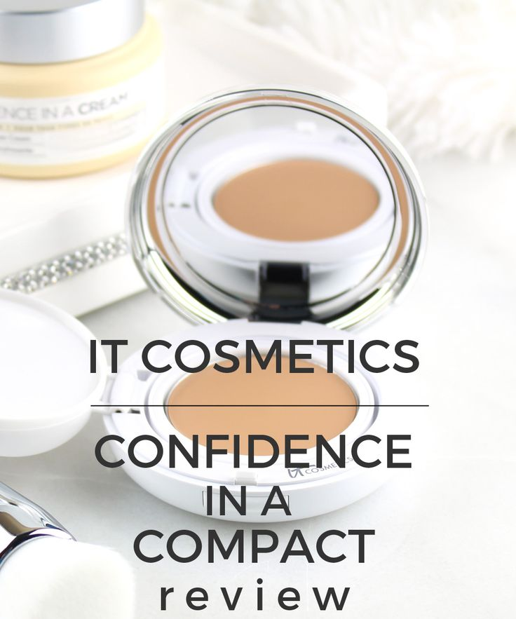 IT Cosmetics Confidence in a Compact Solid Serum..