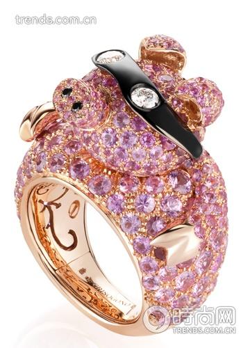 De Grisogono pig ring: adorable !