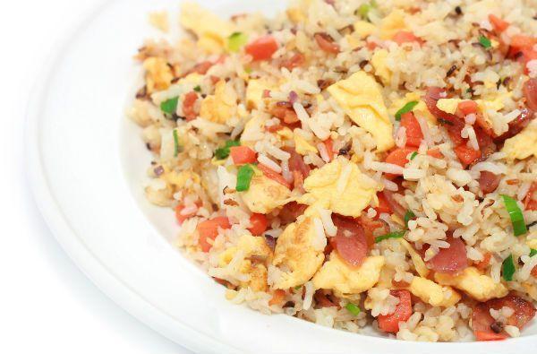 Τηγανιτό ρύζι με λαχανικά