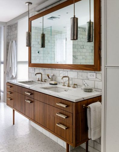 "Rosa Beltran Design {Blog}: ""ORGANIC MODERN"" BATHROOM DESIGN"