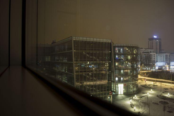 PPNT Gdynia at night