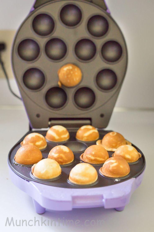 Easy Vanilla Cake Pops Rezept Fur Babycakes Cake Pops Maker Www Munchkintime Com Cake Pops Rezept Popcakes Rezept Einfach Cake Pops