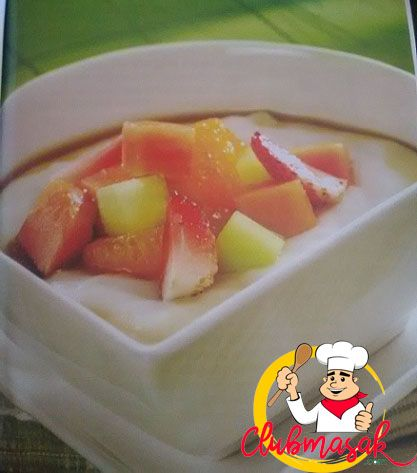 Resep Bubur Sumsum Buah, Hidangan Organik Ala Resto, Club Masak