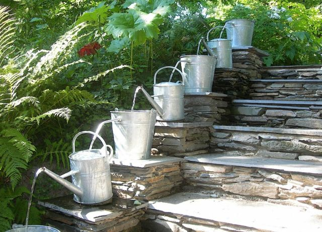 déco jardin eau
