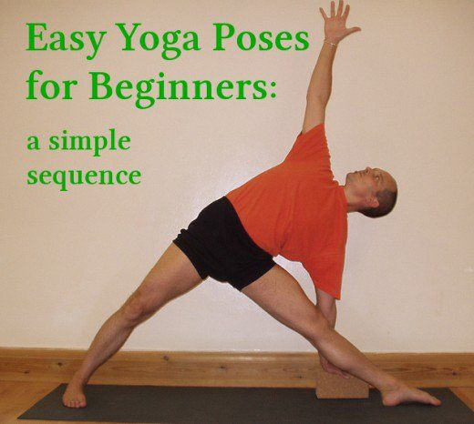 Starting a home yoga practice is difficult for many beginning yoga students. A short sequence of basic yoga poses that new yoga students can do at home. Instructions for beginner yoga poses.