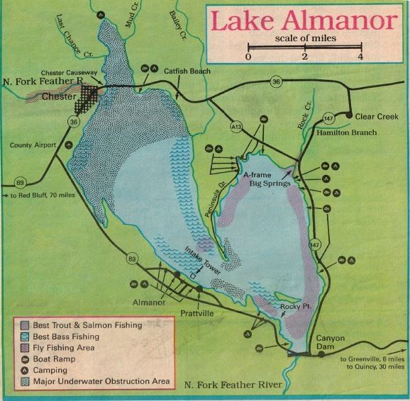 lake almanor fishing map 2019 Lake Almanor Fishing Map Report And Plumas Hunting Public lake almanor fishing map