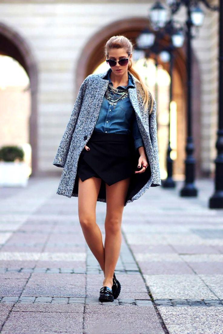 Sokakta Moda Var; En Güzel 46 Kış Sokak Modası Kombini  Sokaklar artık podyum gibi. Ne tarafa baksanız şık bir bayan sizi karşılıyor. Birbirinden güzel Sokak Modası Kombini görmek hiç zor değil. Bu kış özellikle boğazlı kazaklar çok moda. Biz de size New York, Paris, Londra ve Milano sokaklarından Moda Trendleri araştırdık. Bir tanesini seçin ve kendinizi sokağın havasına bırakın..