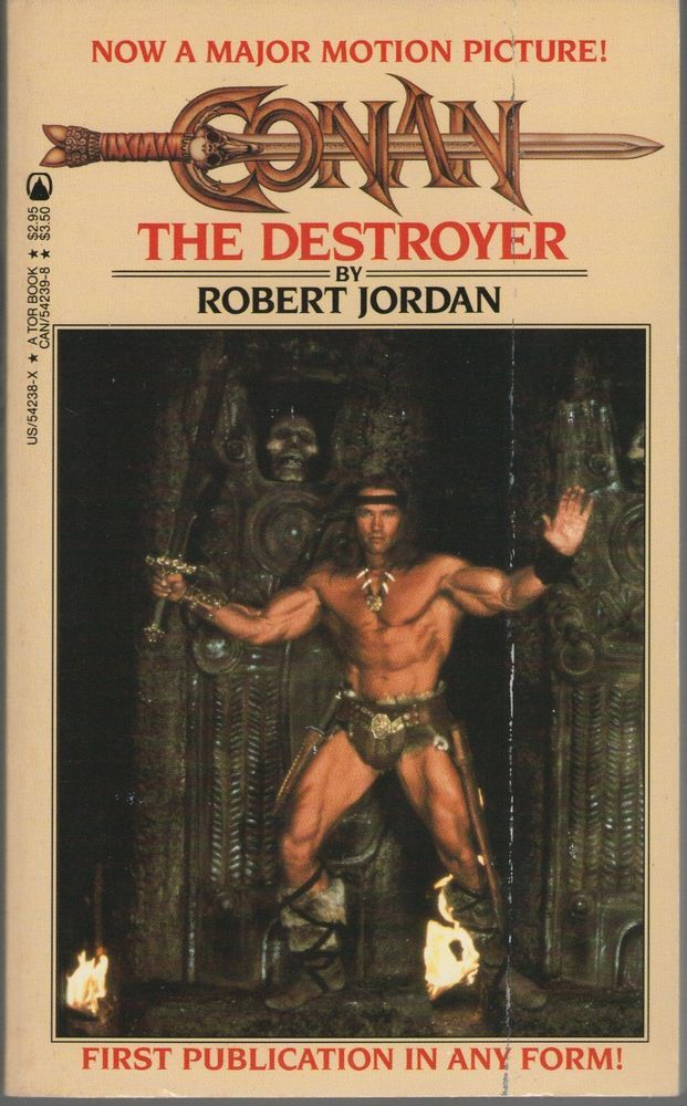 Conan The Destroyer By Jordan Robert Paperback 1984 Tor Books