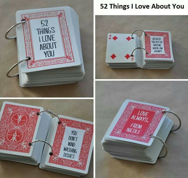 52 reasons I love you :) ♡♥♡♥