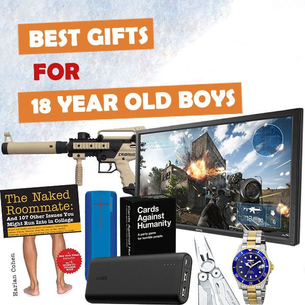 We've scoured the stores all year to find the best gifts for 18 year old boys. See over 150 gift ideas inside.