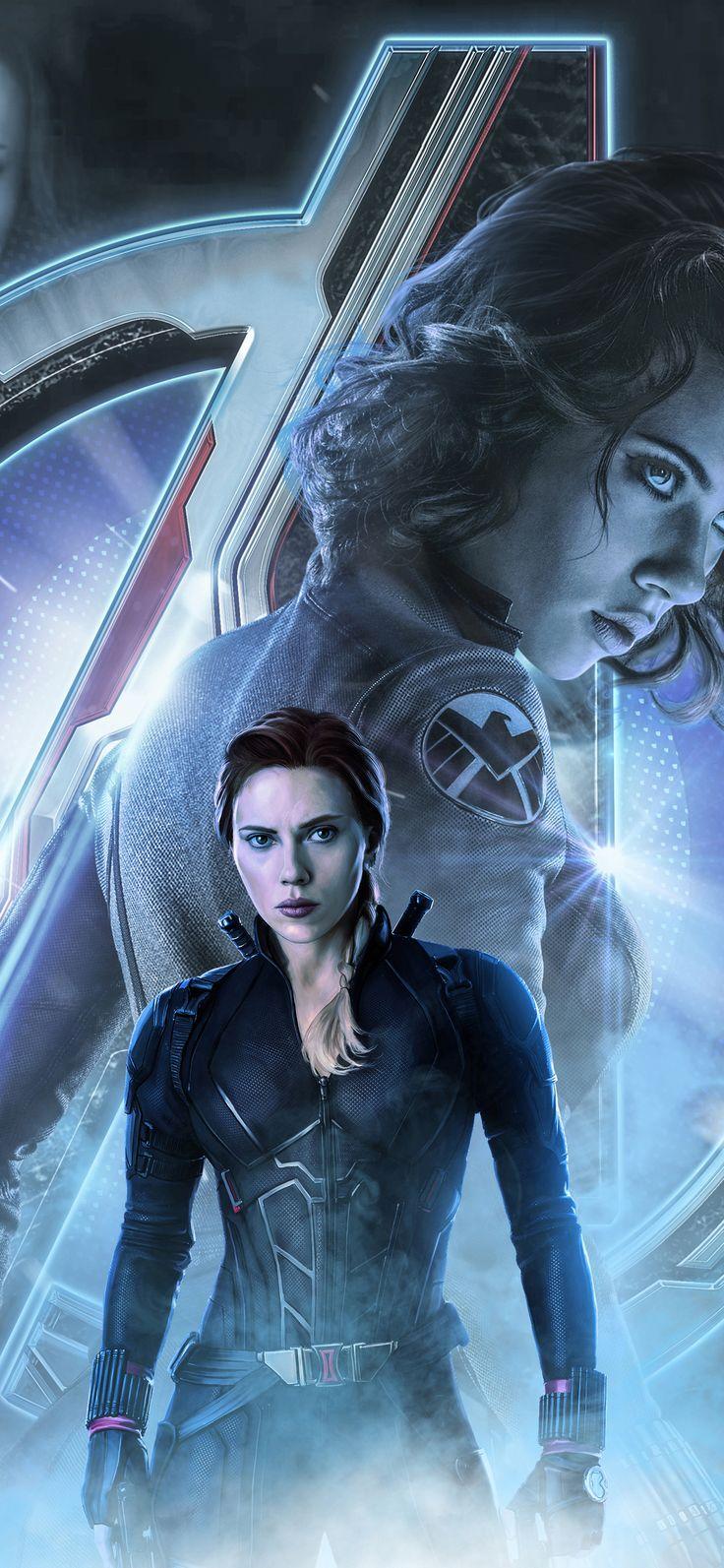 1125x2436 Black Widow In Avengers Endgame 2019 Iphone XS ...