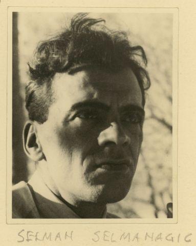 Etel Mittag-Fodor, Portrait Selman Selmanagic, um 1929