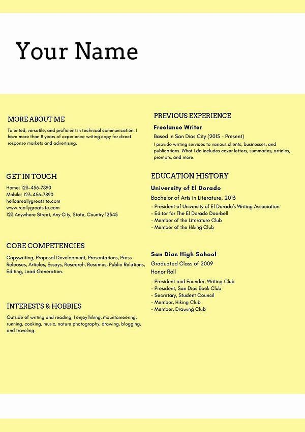 Digital Marketing Resume Examples Lovely Best Examples Of Digital Marketing Resume For In 2020 Resume Template Professional Marketing Resume Free Resume Template Word