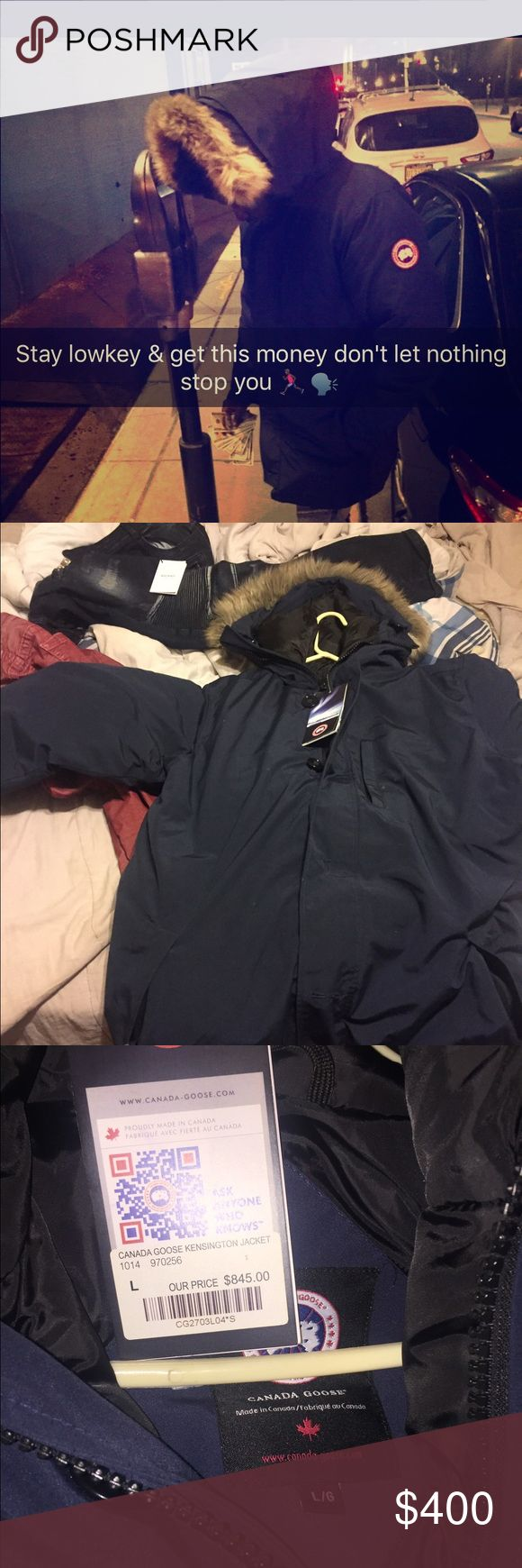 Canada Goose coat Goose coat , size large & still have tags & receipt ,  Fast 2 days priority shipping                         #bape # true religion # embellish # bathing ape #robin jeans #bape # true religion # embellish # bathing ape # ferragamo # Gucci # ax # lv # goyard # Jordan # vlone # supreme Canada Goose Jackets & Coats Raincoats