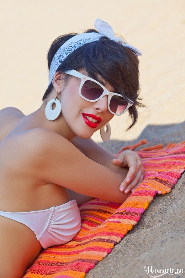 63 best Bandana Chic's images on Pinterest   Hairstyles