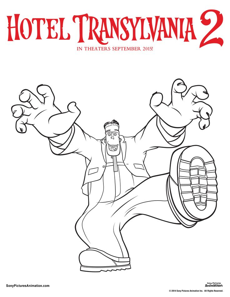Unearth your inner artist with these Hotel Transylvania 2
