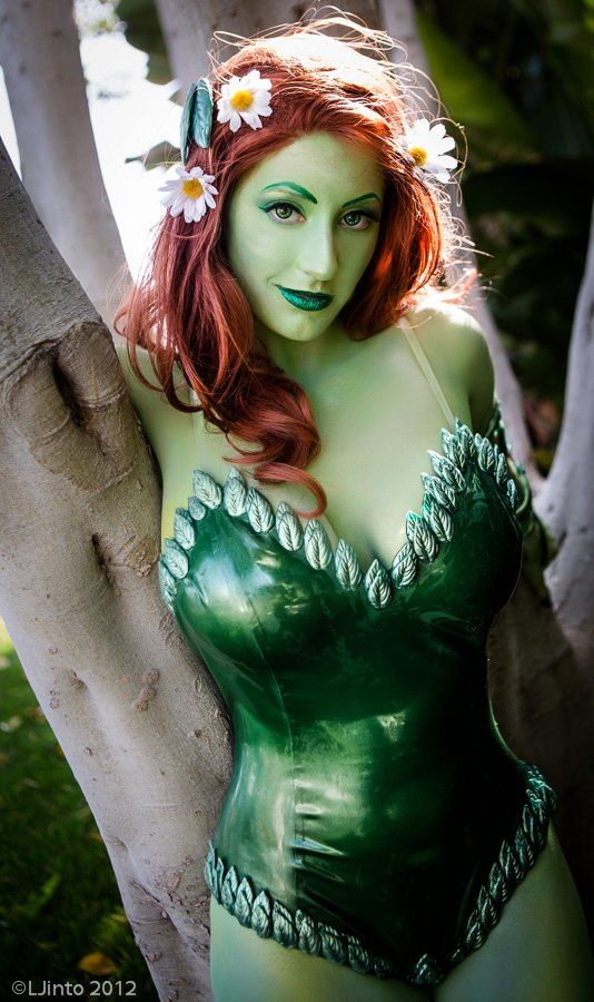 This is my friend Abby. She is awesome all the time. Plus look at Abby DarkStar as Kotobukiya Poison Ivy  By LJinto