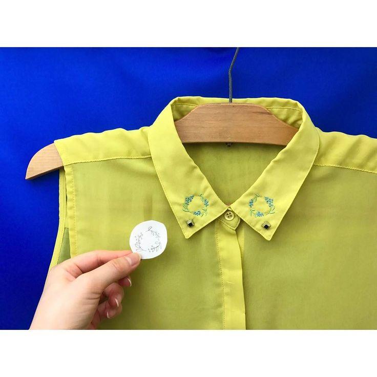 お気に入りの一着だったことを忘れてしまった服を、もう一度お気に入りに💐  *  黄色い服の襟元に、青いミモザを咲かせてみました🌿  ササっと描いた下絵も一緒に。  *  タンスのこやしになりかけていたけれど👗  また着るのが楽しみになりました♩.。  *  *  #刺繍 #青いミモザ #ミモザ #洋服 #リメイク #刺繍ミシン #デザイン #ファッション #刺繍のある生活 #札幌 #colorstitch #はじめましての日 #カスタマイズエブリデイ  #embroidery #mimosa #bluemimosa #flower #shirt #embroideryart #embroiderymachine #design #fashion #sapporo #madeinjapan #instaart  #자수 #刺绣 #broderie #stickerei #ricamo