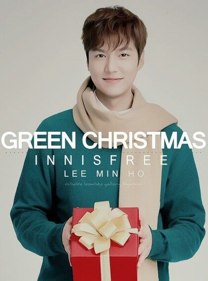 (Part 3) Lee Min Ho for Innisfree Green Christmas 2015.