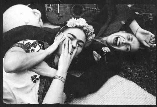 Frida Kahlo y chabela Vargas