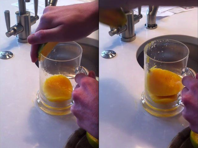 How to Peel a Mango – Life Hacks  WHERE HAS THIS BEEN ALL MY LIFE