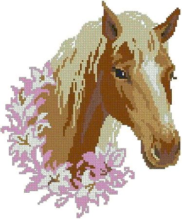 Horse cross stitch pattern - HubPages