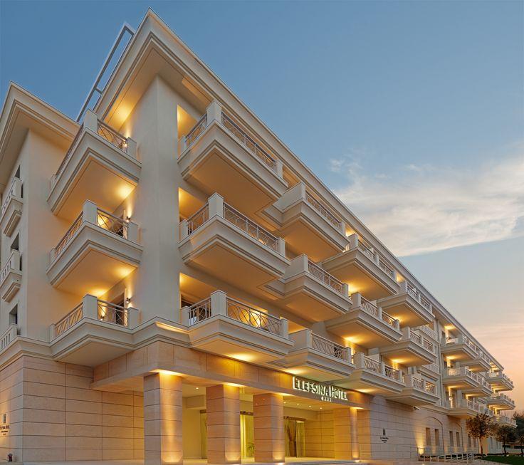 Elefsina Hotel, exterior view.