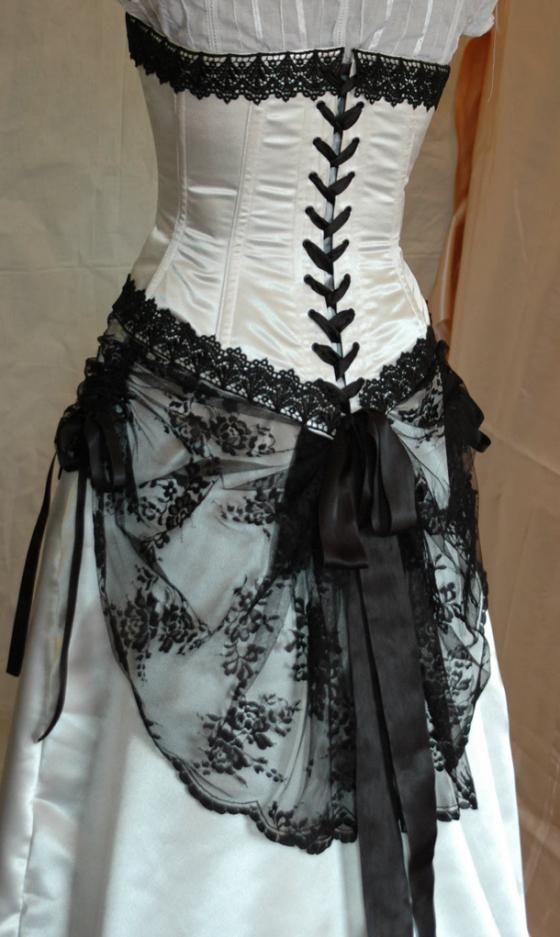Corset Wedding Dresses | Wedding Dress: Wedding Dresses Design With Black Corset